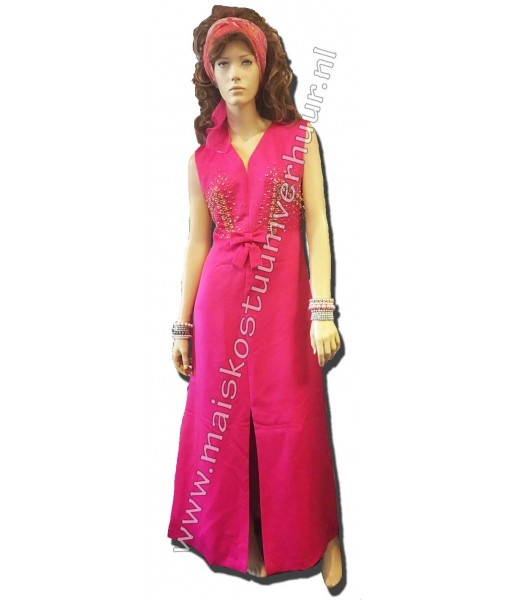 70s Avondjurk roze