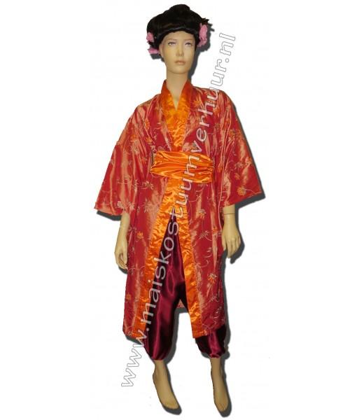 Japanse dame