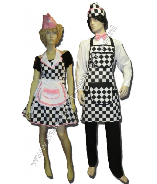 50s Waitress & Waiter