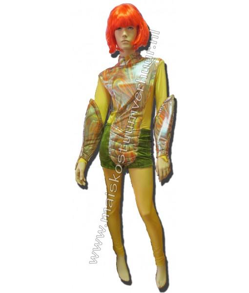 Space alien kostuum