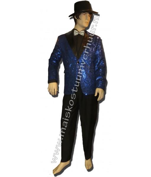 Showman blauw