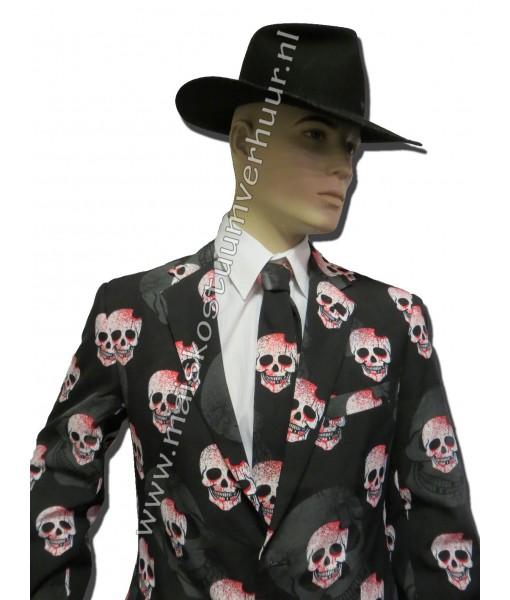Heren kostuum Skulls