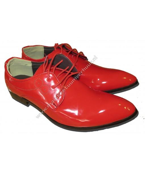 Rode heren lakschoenen