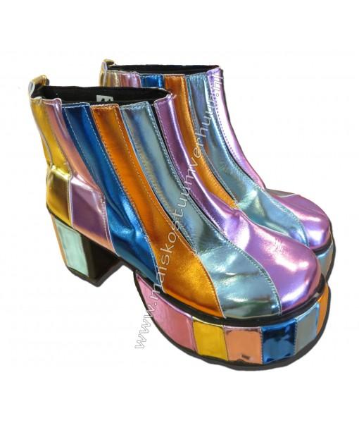Gekleurde disco laarzen