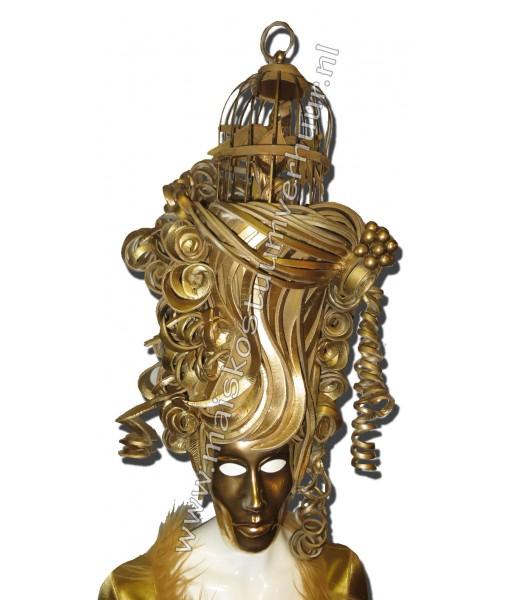 Masked Golden girl