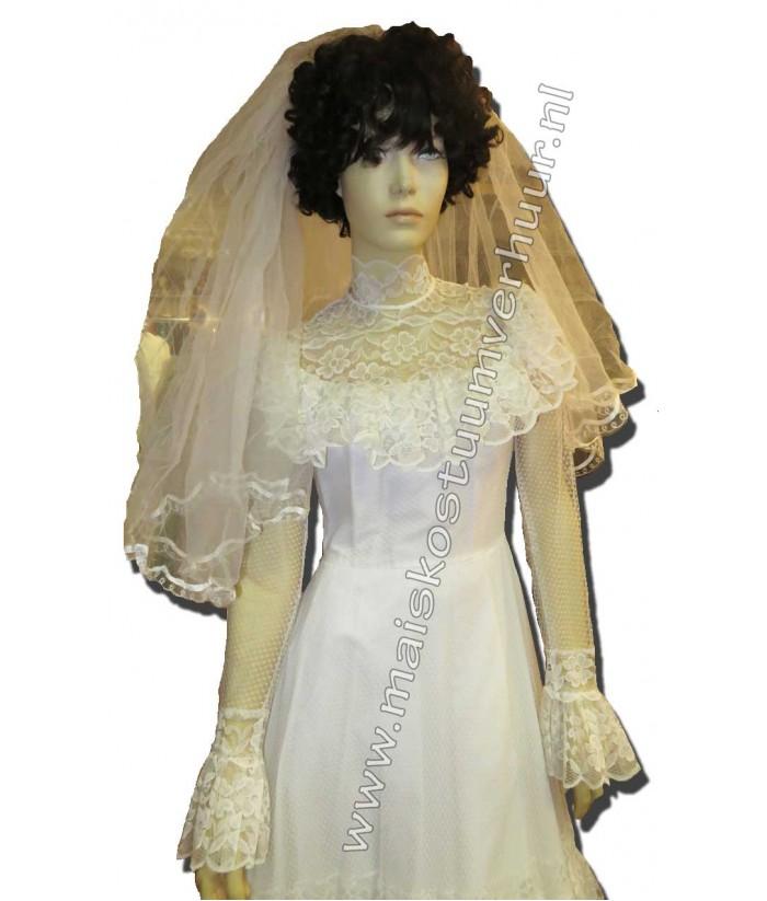 Vaak Zeventiger jaren trouwjurken | Trouwjurken te huur #RL12